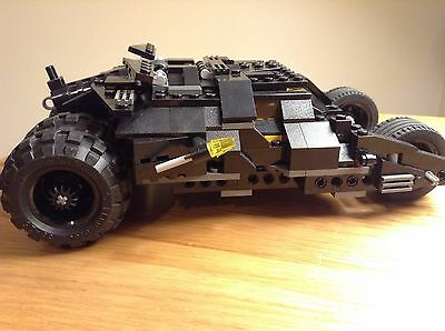 Lego Batman Tumbler From 7888 Complete Incomplete DC Superheroes