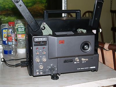 Elmo GS-800 super 8mm sound projector. Stereo. Boxed and complete