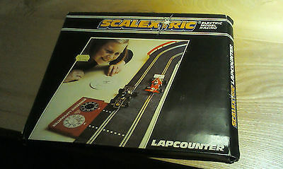 SCALEXTRIC LAPCOUNTER with SPEED COMPUTER C277 BOXED - 1970s original