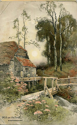 1905 Postcard Mill on the Ivel Bedfordshire
