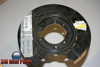 BMW E24 2500-3.3LI Rear Brake Left Backing Plate 34211104548