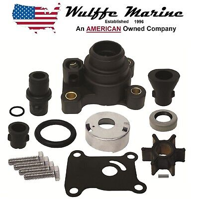 Water Pump Kit for Johnson Evinrude 9.9 15 Hp rplcs 18-3327 386697 391698 394711
