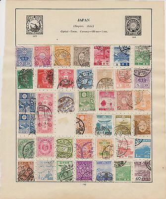 Japan Collection Of Used Stamps