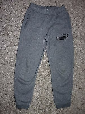 Puma Boys Joggers Trousers Age 12 Years,in Very Good Condition