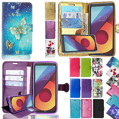 Luxury Magnetic Flip Stand Cover Wallet PU Leather Case For LG K8 2017 / K4 2017