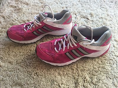 Ladies Pink Adidas Trainers/Running Shoes Size 6