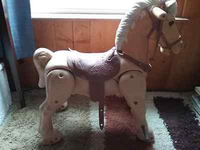 Louis Marx 1967 era Vintage Marvel the Mustang Large Riding Toy Horse