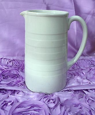 "GREEN & CO LTD HUGE 9"" MILK PITCHER GRESLEY ENGLAND BACKSTAMP (1930s)"