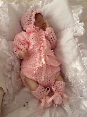 Reborn Dolls Clothes Very Pretty Set Lots Of Details 16-18 Inch Doll
