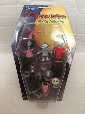 New Disney Nightmare Before Christmas Figure Collection - Lock Shock Barrel - 2""