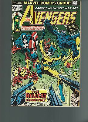 The Avengers #144 (Feb 1976, Marvel) FN+ 6.5 1st App of Hellcat