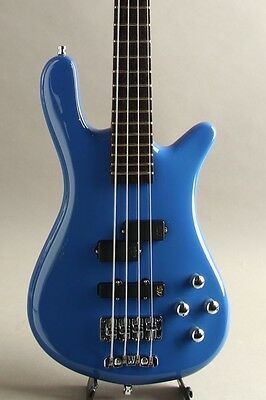 WARWICK Streamer LX 4st Blue Highpolish 2009 From JAPAN free shipping #R1440