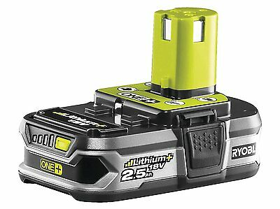 Ryobi One+ RB18L25 GENUINE  18V 2.5Ah Lithium Ion Battery