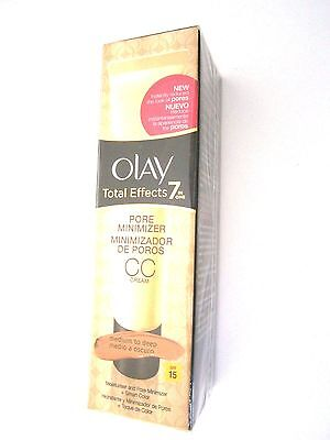 OLAY Total Effects 7 in One Pore Minimizer CC Cream Medium to deep- 50ml
