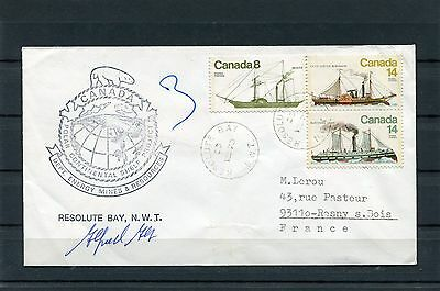 """Enveloppe Expedition Polaire """"resolute Bay"""" 28 Aout 1979"""