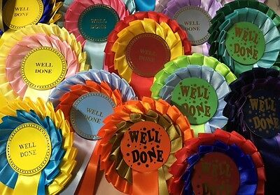 Rosettes 2 Tier 10 Pack: Classic or Funky Well Done