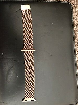 iwatch (apple) 38mm Magnetic Rose Gold Watch Band