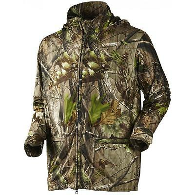 Seeland Conceal Realtree Jacket APG Hunting Stalking Coat Silent Hood Adjustable