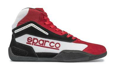 Shoes SPARCO GAMMA KB-4 Red Karting Suede Boots KB4 Kart Race Driver NEW 2017
