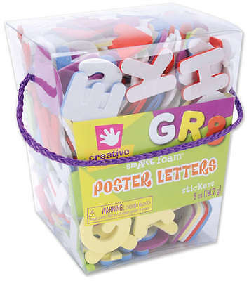 Foam Stickers 5oz Poster Letters 67862E
