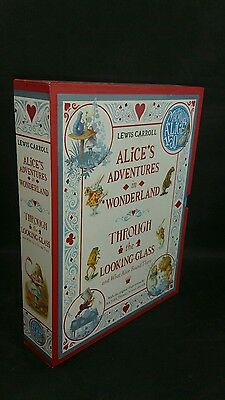 Alice in Wonderland 150th Anniversary Edition - 2 Book Set by Lewis Carroll