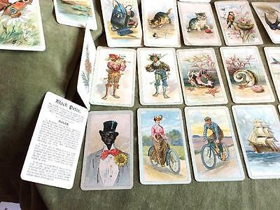 Old Black Peter Playing Cards~Full Set 38 Cards~Scarce Ww1 Era