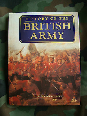 History of the British Army by Charles Messenger (Hardback)