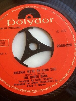 Arsenal W'ere On Your Side 1972 Single