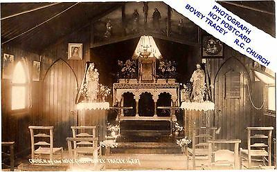 Bovey Tracey- Interior Of Rc Church ( The Old Corrugated Church)-Devon.