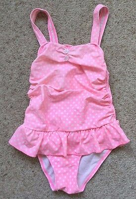Girls Pretty Swimming Costume From Bhs  Age 5 Years  Ex Cond