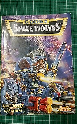 Space Wolves 2nd Edition Codex. warhammer 40k