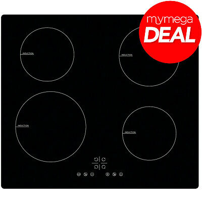 MyAppliances REF29212 60cm Black Eco Boost Induction Hob 13 AMP Plug Fitted