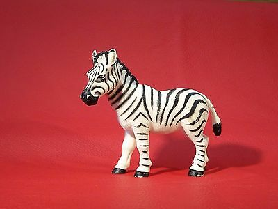 Chap Mei ZEBRA Solid plastic toy figure WILD ZOO AFRICAN ANIMAL