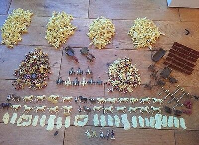 Huge joblot Airfix 1/72nd scale toy soldiers 600+ pieces napoleonic and others
