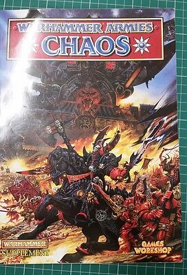 Chaos Army Book. 4th Edition. warhammer