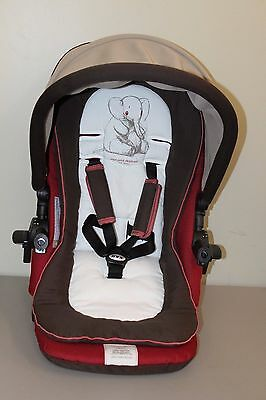 Replacement Seat for Jane Rider R15 Stroller (Sand)