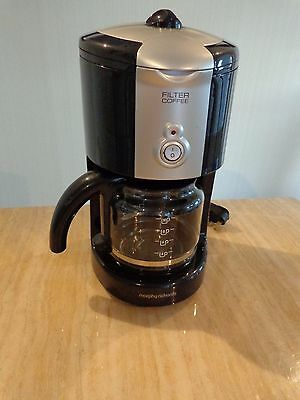 Morphy Richards 47041 10 Cups Coffee Maker - Black