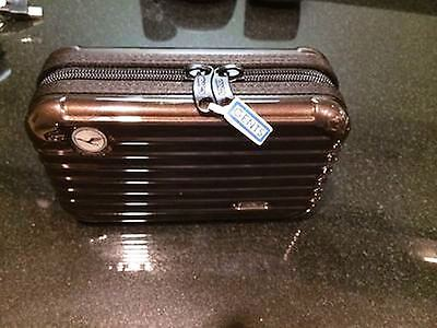 Rimowa Lufthansa First Class Amenity Kit for  Color Dark Brown