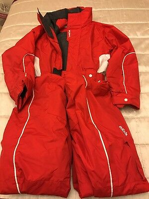 Childs Red Wedze Snow Suit