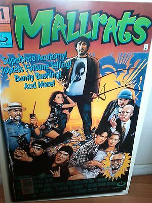 Mallrats One Sheet - SIGNED BY KEVIN SMITH