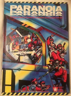 Games Workshop Paranoia Hardback 1986