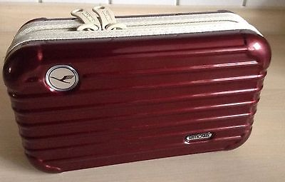 Rimowa Lufthansa First Class Amenity Kit for  Color Red