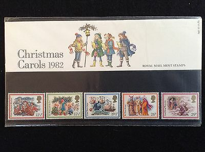 GB Royal Mail 1982 Presentation Pack #140 CHRISTMAS - Low S&H