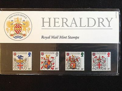 GB Royal Mail 1984 Presentation Pack #150 HERALDRY - Low S&H