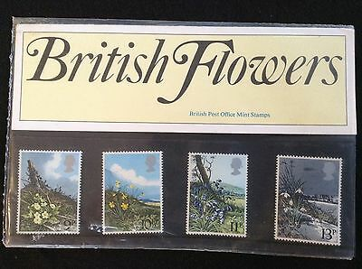 GB Royal Mail 1979 Presentation Pack #107 FLOWERS - Low S&H