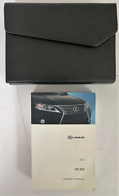 2014 Lexus RX 350 Owners Manual Guide Book