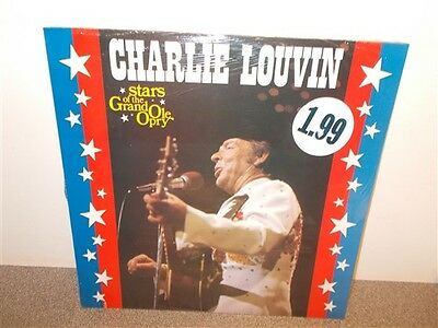* Charlie Louvin . Stars of the Grand Ole Opry . Sealed LP