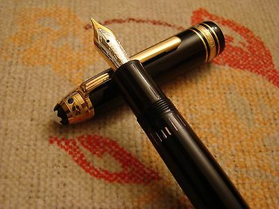 "Montblanc Meisterstrück Legrand Unicef Edition Fountain Pen ""unused"""