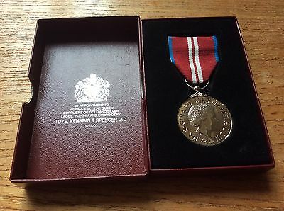 The Queens's Diamond Jubilee Medal 1952-2012 - Original and Boxed