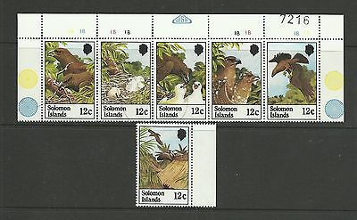SOLOMON ISLANDS 1982  Birds - Sandfords Sea Eagle   umm / mnh